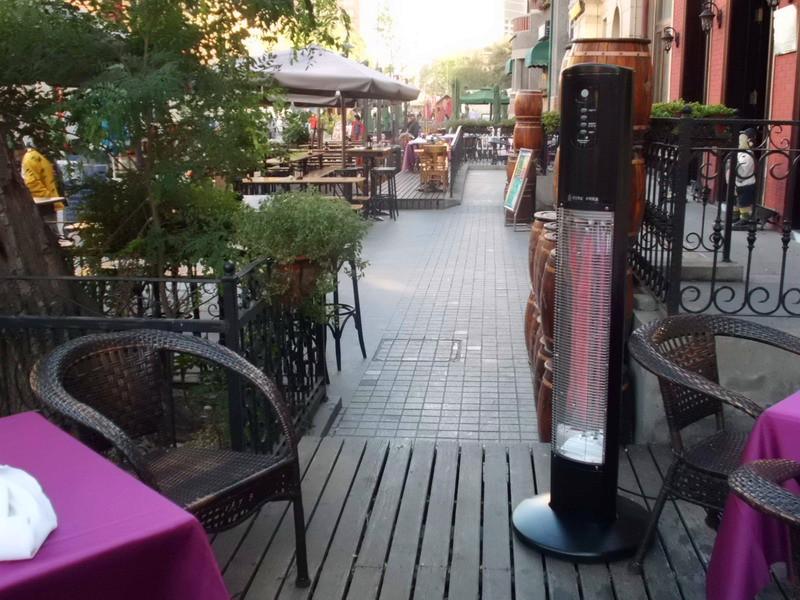 Kraftig stående terrassevarmer