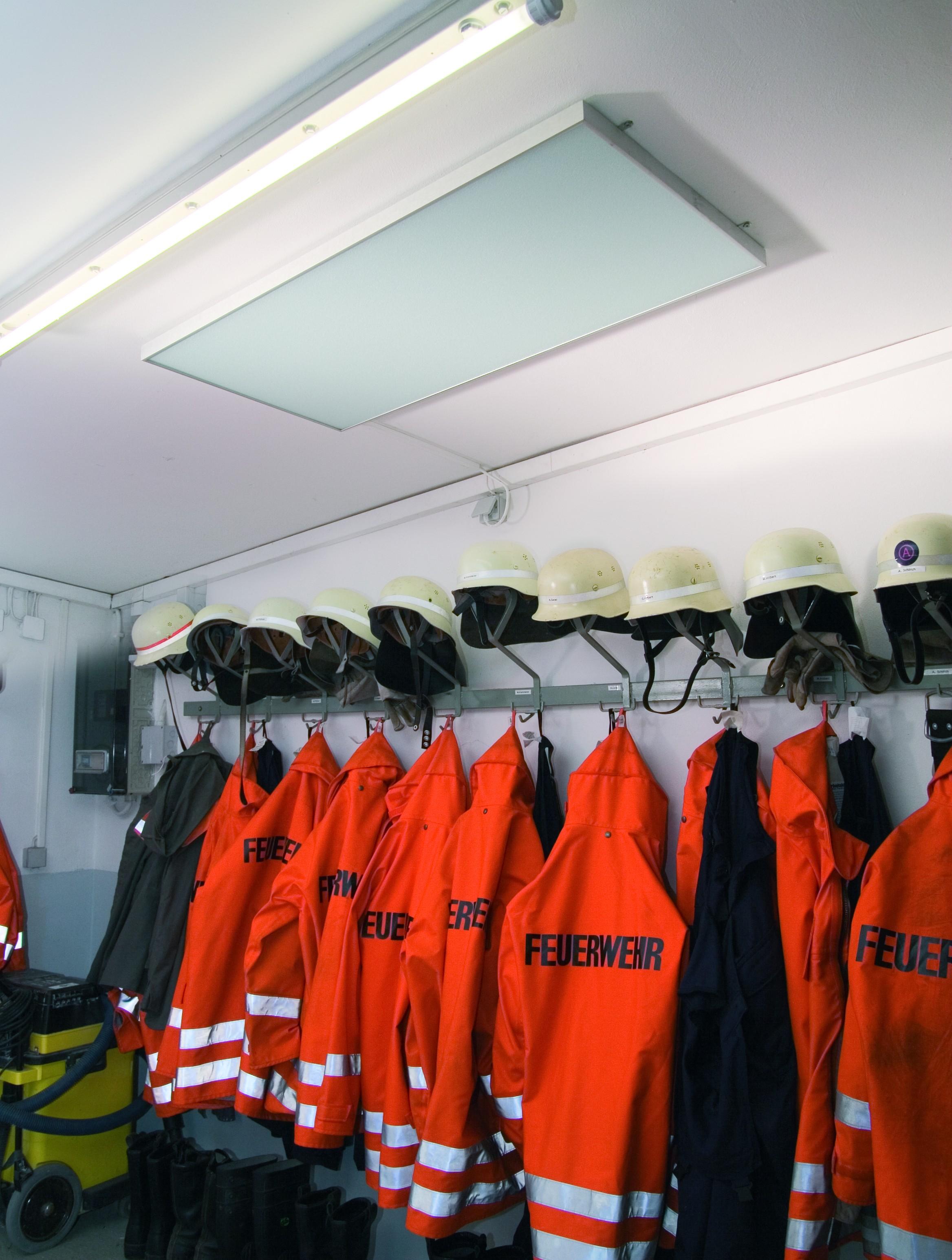 Varme på brannstasjon