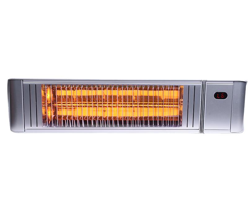 Provida Matrix terrassevarmer, 1500W, Sølv
