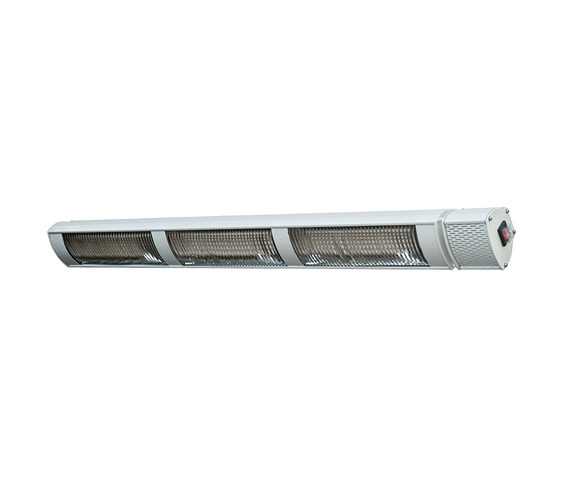 Provida Max Power Pro terrassevarmer, 3x800W, Hvit