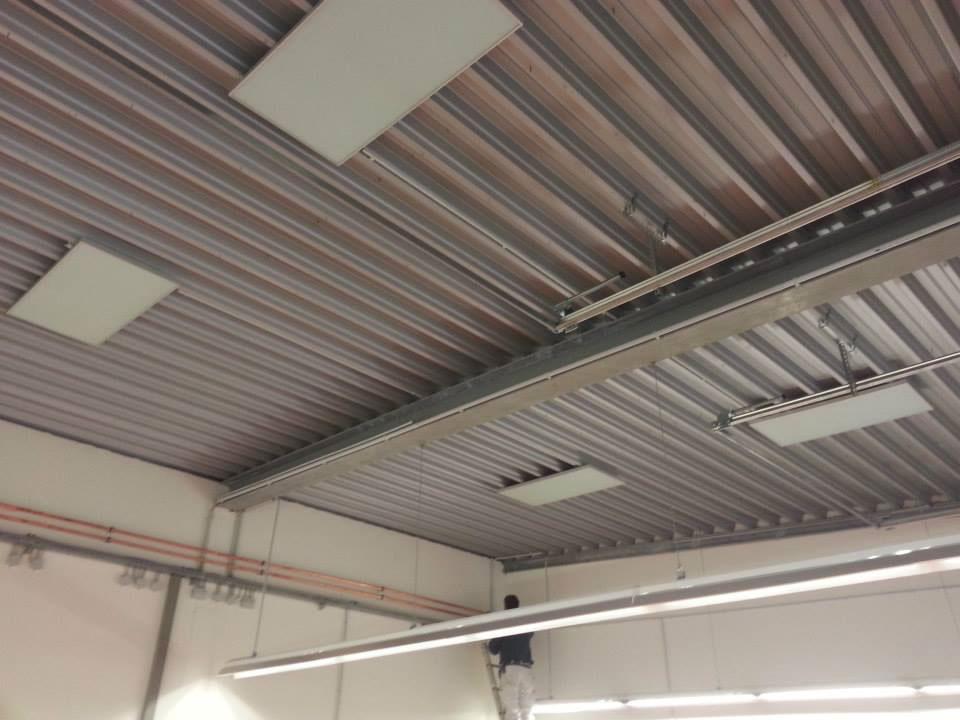Varme i taket med infrarød varme