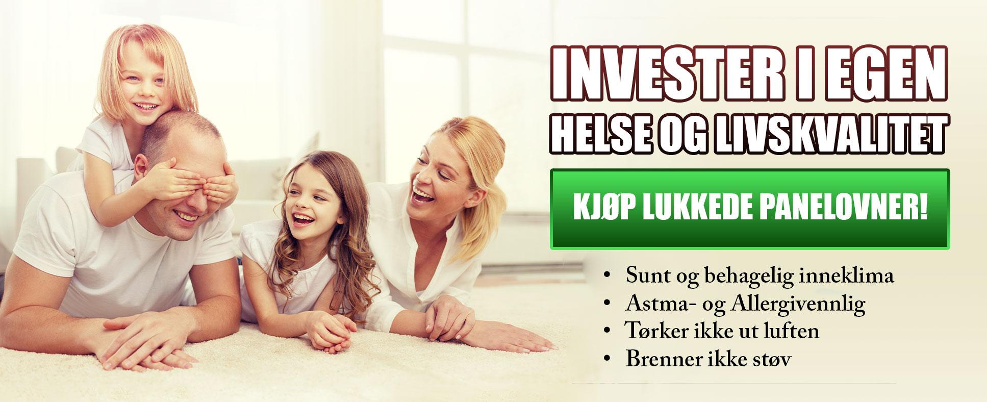 Invester i helse og livskvalitet – Annonse