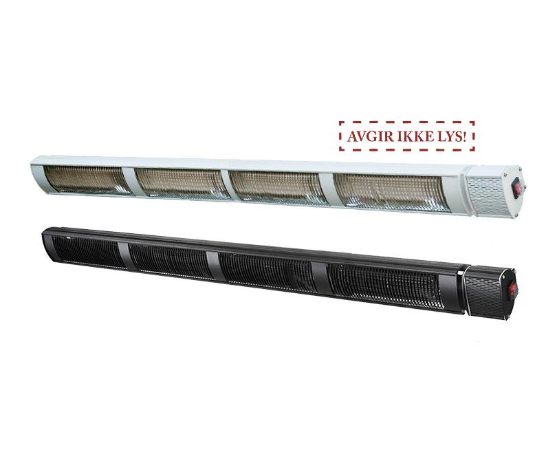 Provida Max Power PRO terrassevarmer, 4x800, Sort